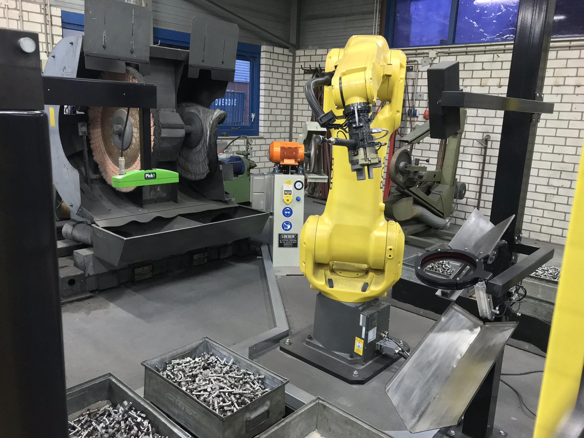 Geautomatiseerd Robot slijpen en polijsten