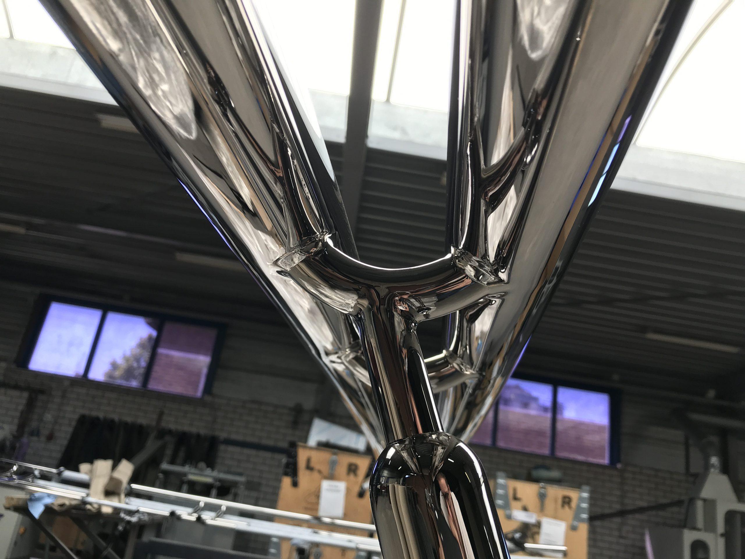 Leuningwerk balusters hoogglans gepolijst Mirror 8 RVS