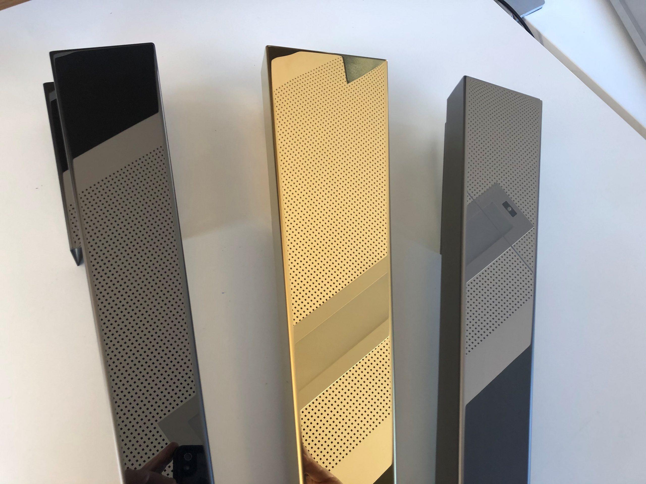 RVS black-gold mirror