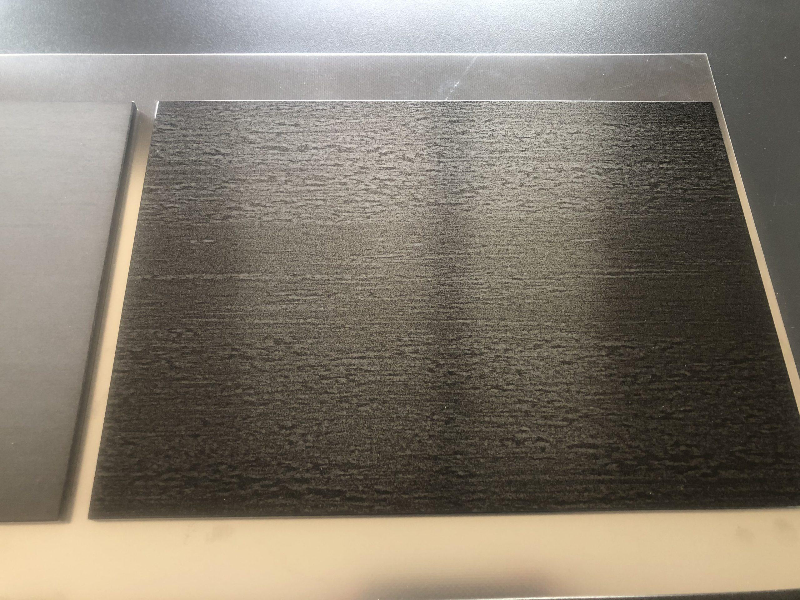 Warmgewalst nanoINOX zwart RVS